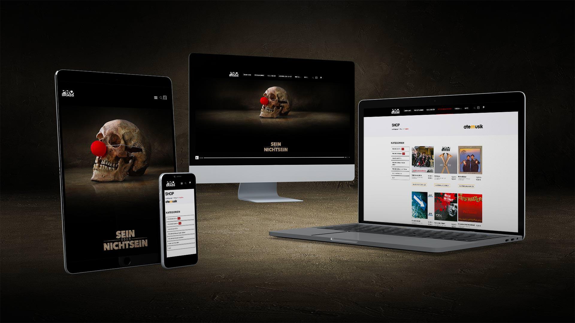 Neuer Atemmusik Webshop online